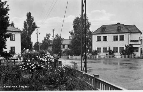 Korsningen Kronobergsgatan - Bergsgatan.