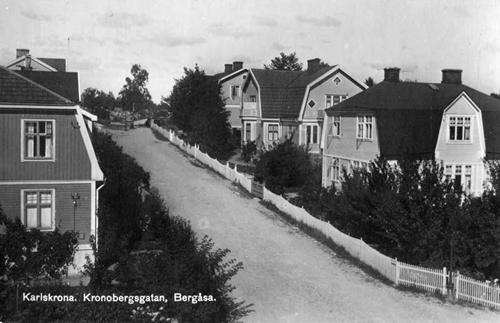 Bergåsa, Kronobergsgatan.