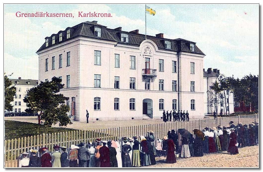Grenadiärkassernen, Karlskrona.