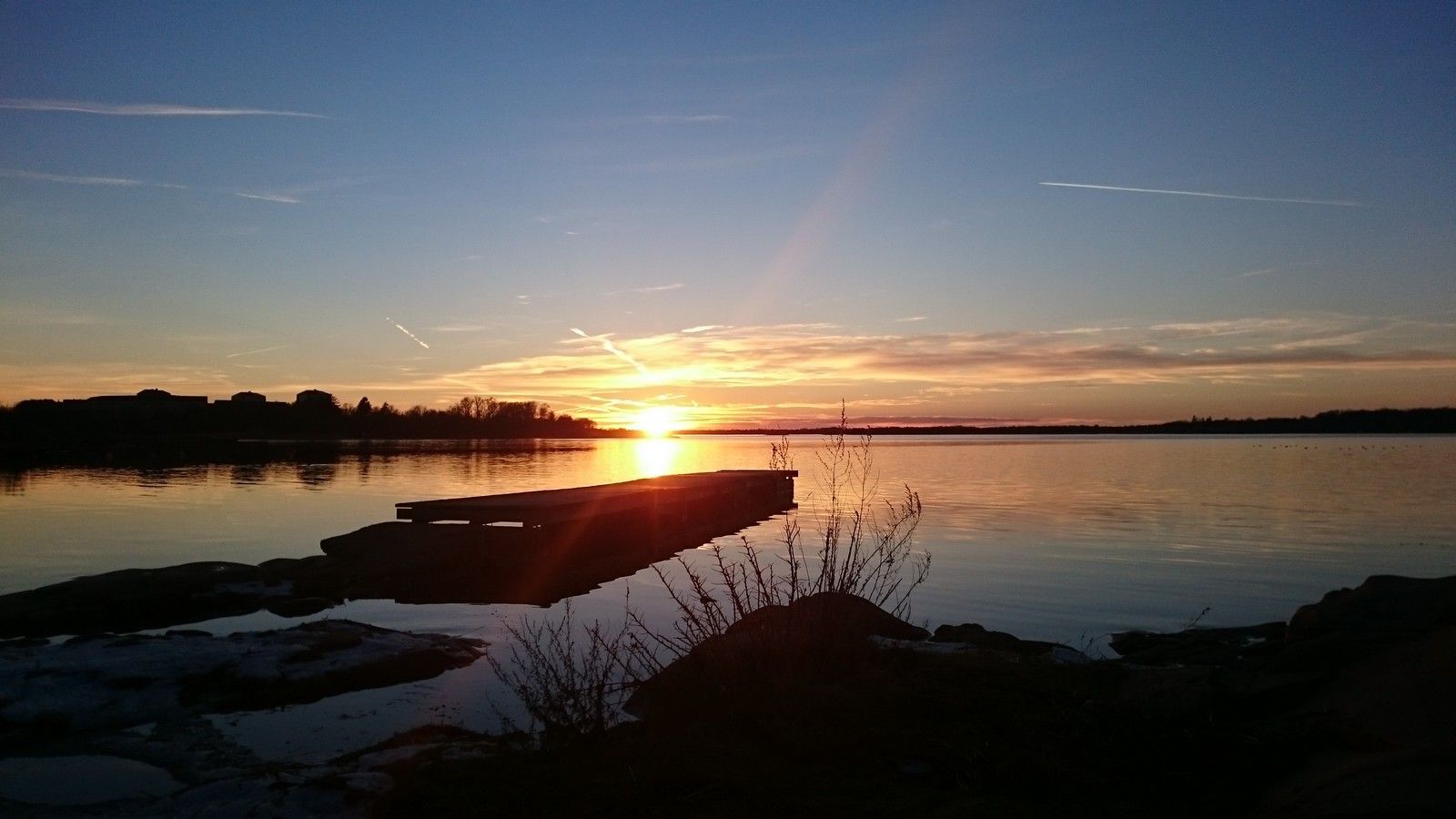 Bidrag 4 - Solnedgång vid stranden
