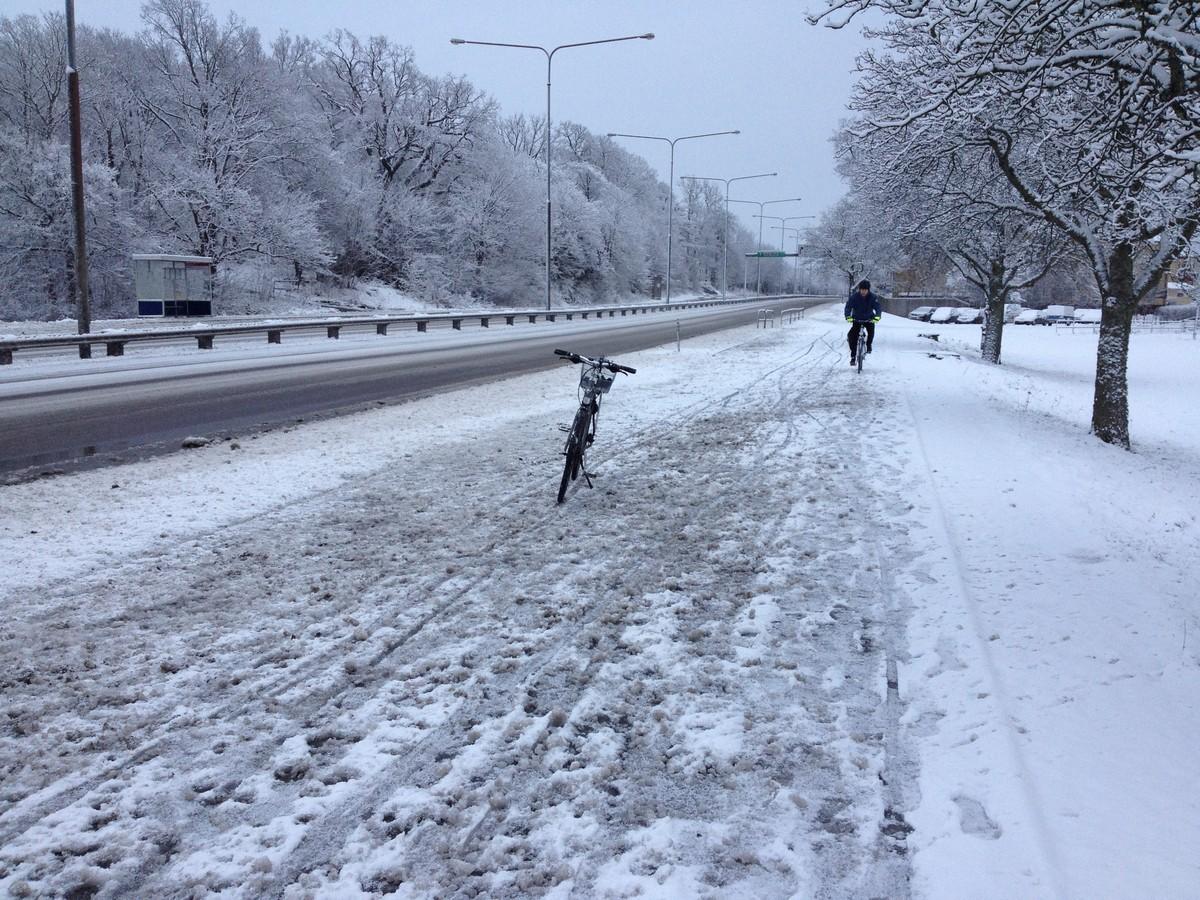 Cykelväg 2018-02-03
