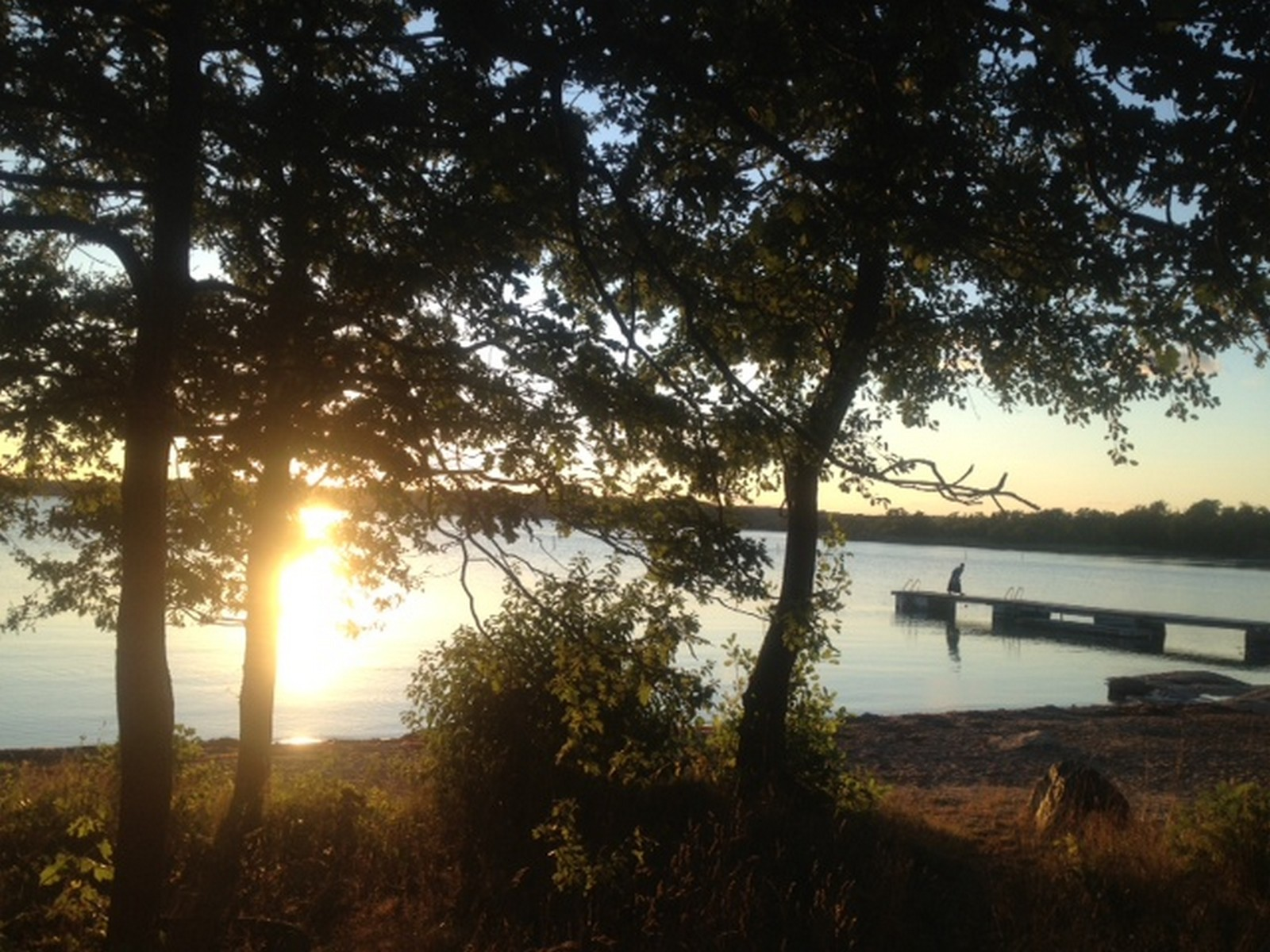 Bidrag 3 - Solnedgång vid Studentviken