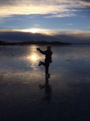 Bidrag 8 - Isprinsessa en härlig vinter-eftermiddag på Studentviken