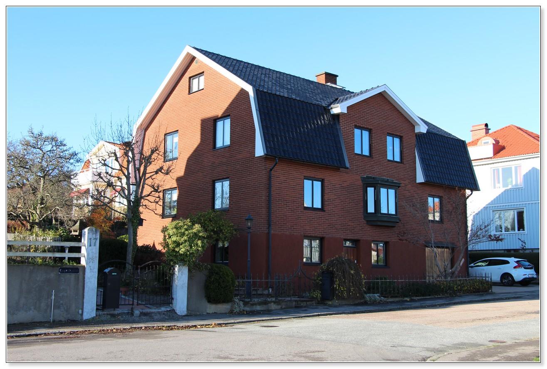 Korpralsgatan 19, butiken var från början mjölkaffär. Foto Hans Södergren.
