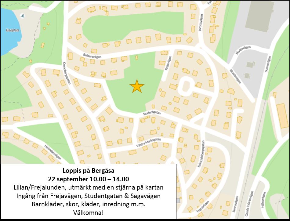 Loppis på Bergåsa 2018-09-22