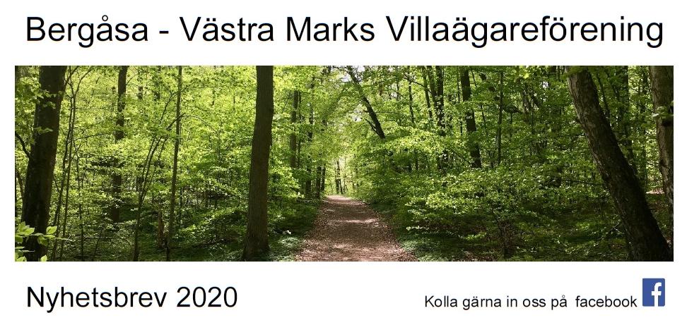 Villaföreningens Nyhetsbrev 2020
