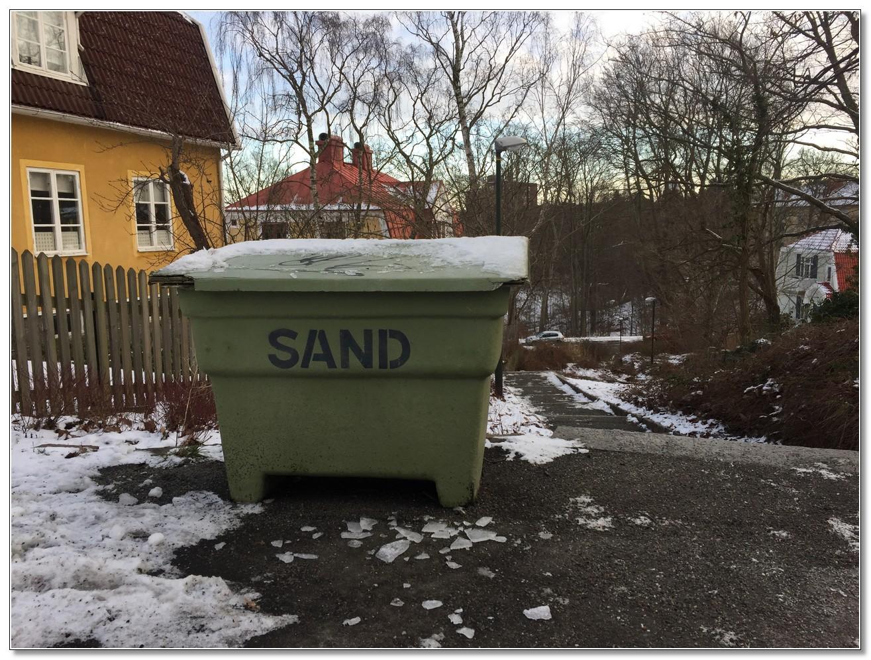 Sandlåda på Bondegatan/Vasagatan