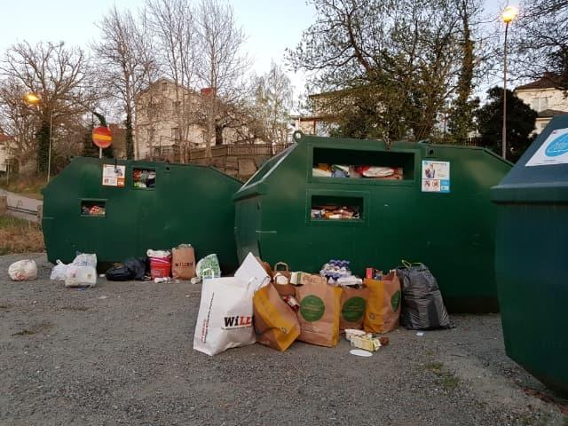 Västra Marks återvinningsstation