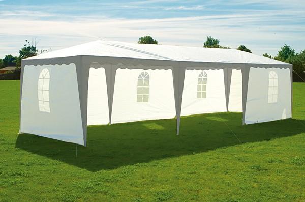 Tält 1 och 2 - Partytält 4x8 meter